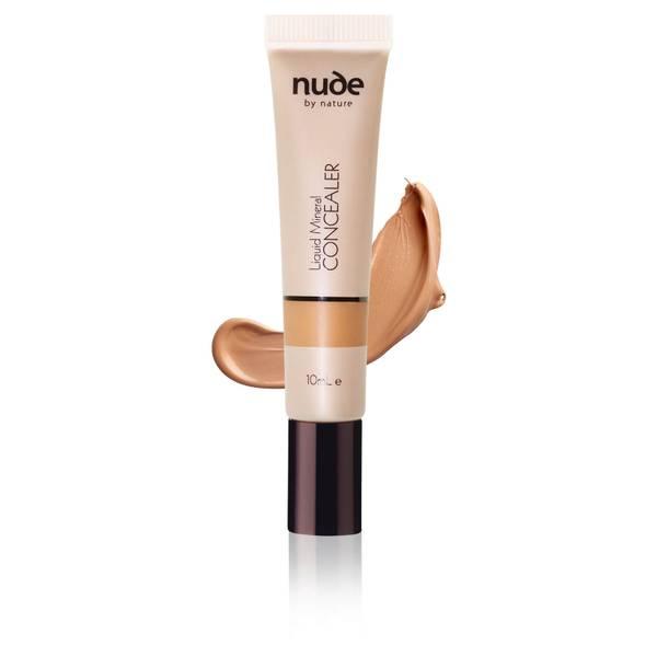 nude by nature Liquid Mineral Concealer - Dark 10ml
