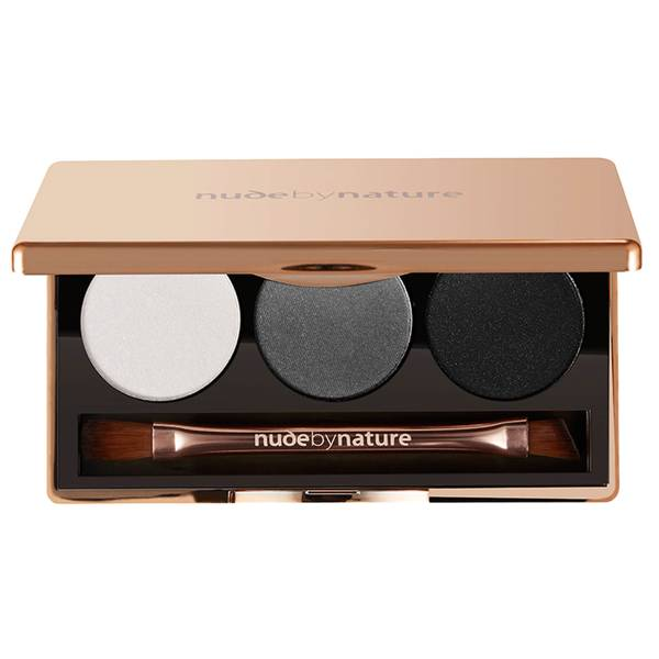nude by nature Natural Illusion Eye Shadow Trio - Smoky 3 x 2g