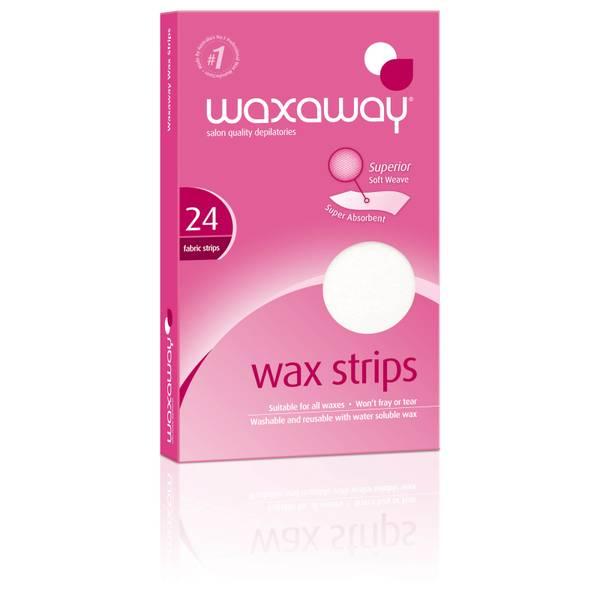 Waxaway By Caron Professional Wax Strips 24pk