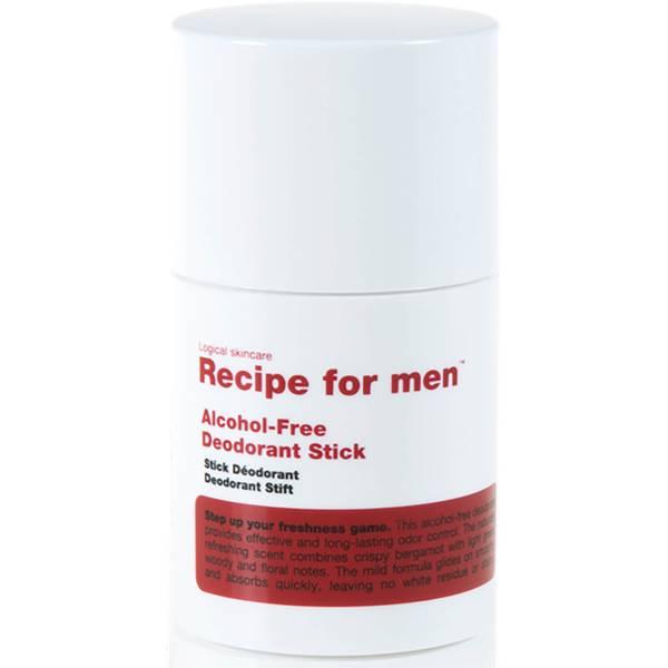 Recipe for Men Alcohol Free Deodorant Stick 75ml