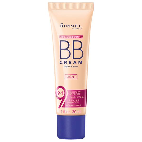 Rimmel 9-in-1 Super Make-Up BB Cream 30ml (Various Shades)