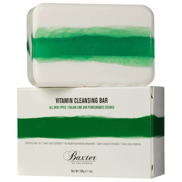 Baxter of California Vitamin Cleansing Bar Italian Lime Pomegranate 198g