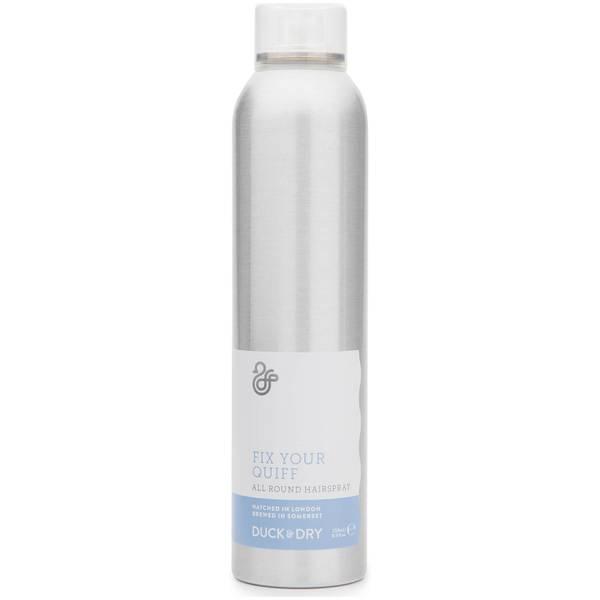 Duck & Dry Fix Your Quiff All Round Hairspray 250ml