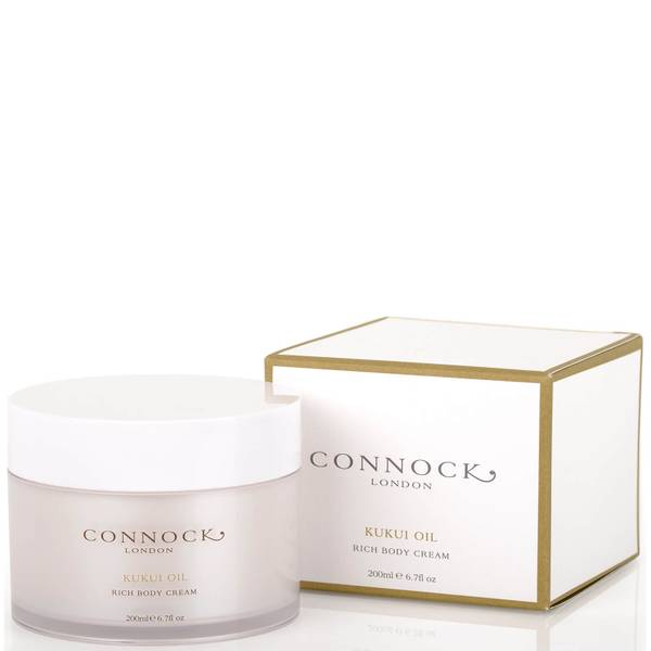 Crema corporal de aceite de kukui de Connock London 200 ml