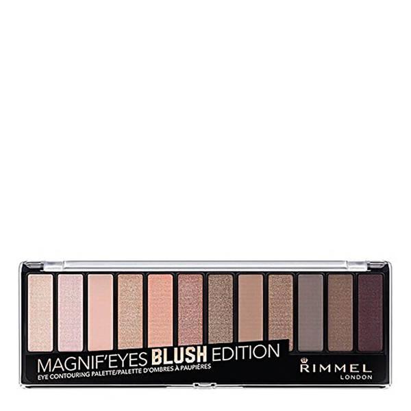 Палетка теней Rimmel 12 Pan Eyeshadow Palette — Blushed Edition 14 г