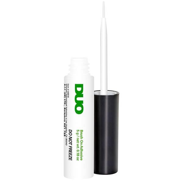 Colle à Faux Cils avec Applicateur Pinceau MAC Duo – White/Clear