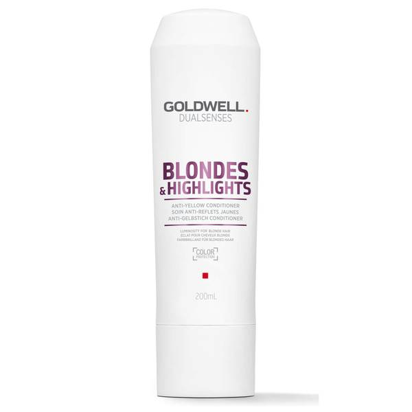 Goldwell Dualsenses Blonde and Highlights Anti-Yellow Conditioner 200ml