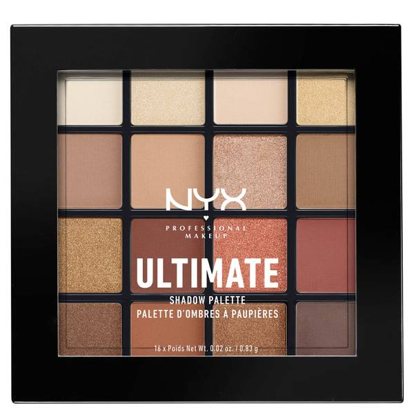 NYX Professional Makeup Ultimate Shadow Palette - Warm Neutrals