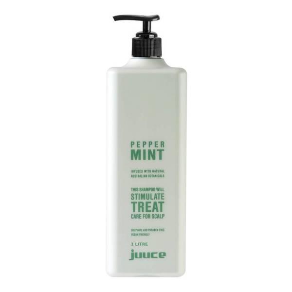 Juuce Peppermint Scalp Stimulating Treatment Shampoo 1 Litre