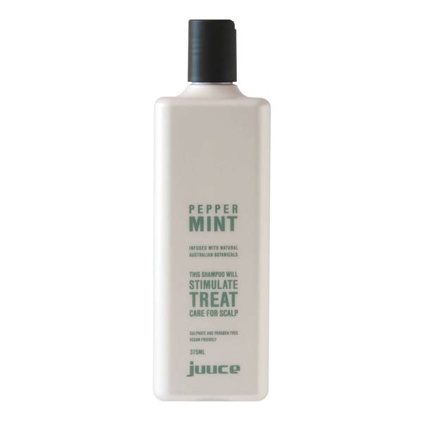 Juuce Peppermint Scalp Stimulating Treatment Shampoo 375ml