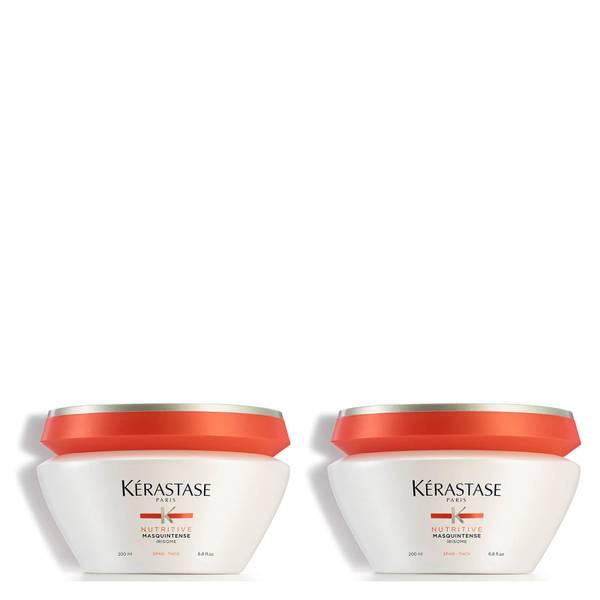 KÉRASTASE NUTRITIVE MASQUINTENSE CHEVEUX EPAIS FOR THICK HAIR 200ML DUO
