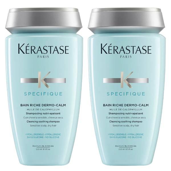 Shampoo Nutritivo Specifique Dermo-Calm Bain da Kérastase 250 ml Duo