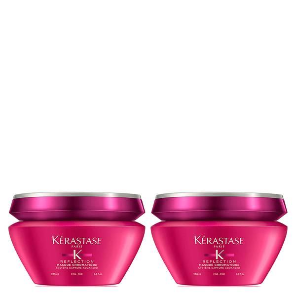 Masque Chromatique Cheveux Fins Kérastase Reflection 200ml Duo