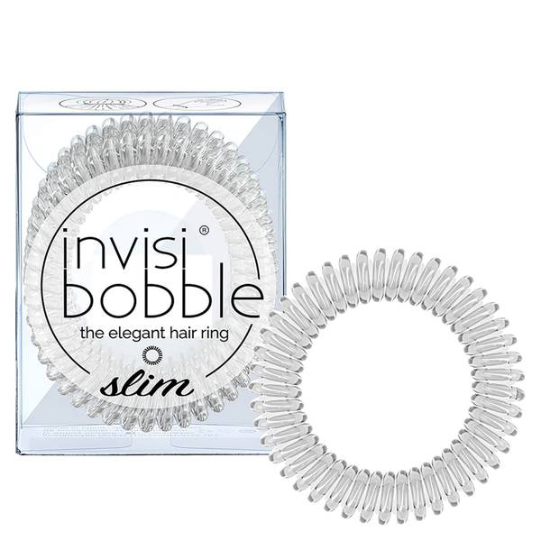 invisibobble Slim Hair Tie - Crystal Clear
