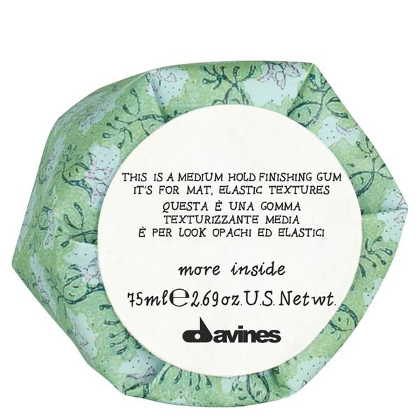 Davines More Inside This Is A Medium Hold Finishing Gum 75ml