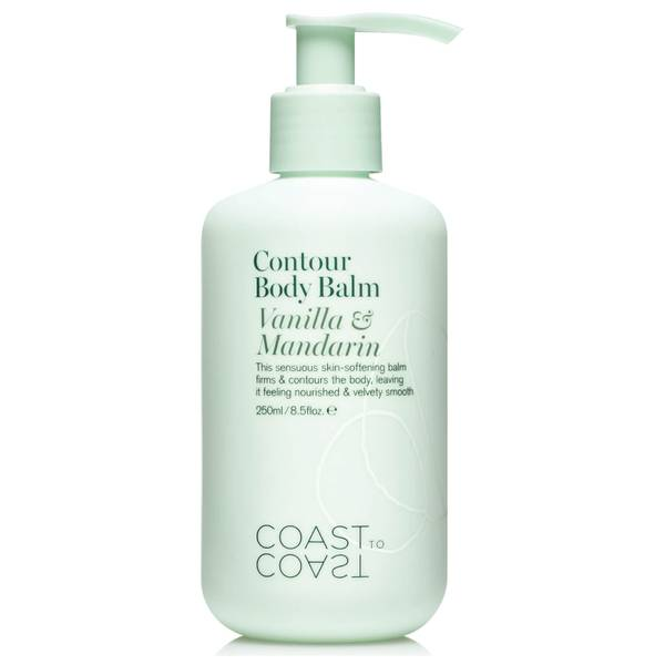 Coast to Coast Body Balm Vanilla & Mandarin 250ml