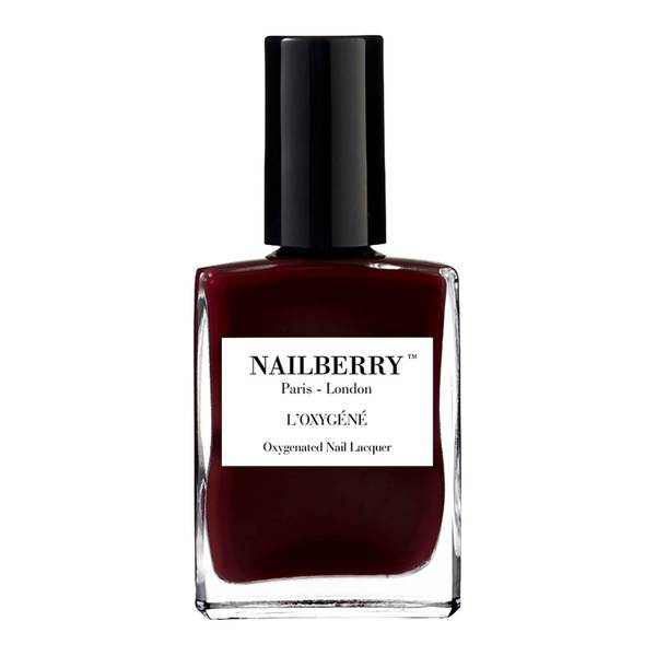 Nailberry L'Oxygene Nail Lacquer Noirberry