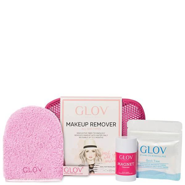 GLOV Hydro Cleanser Travel Set - Pink