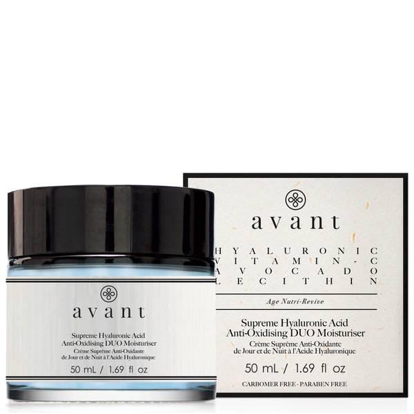 Avant Skincare Supreme Hyaluronic Acid Anti-Oxidising Duo Moisturiser 50ml