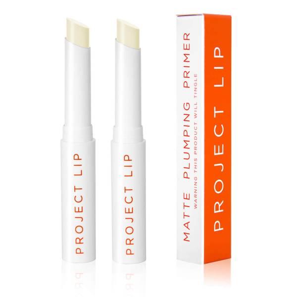 Prebase voluminizadora mate para labios de Project Lip - Pack de 2