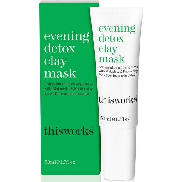 this Works Evening Detox Clay Mask 50 ml