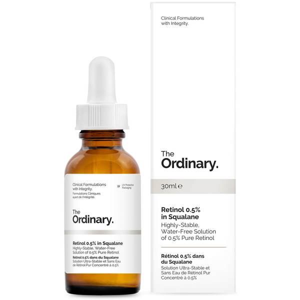 The Ordinary Retinol Serum 0.5% in Squalane (ジ オーディナリー レチノール セラム 0.5% スクワラン)