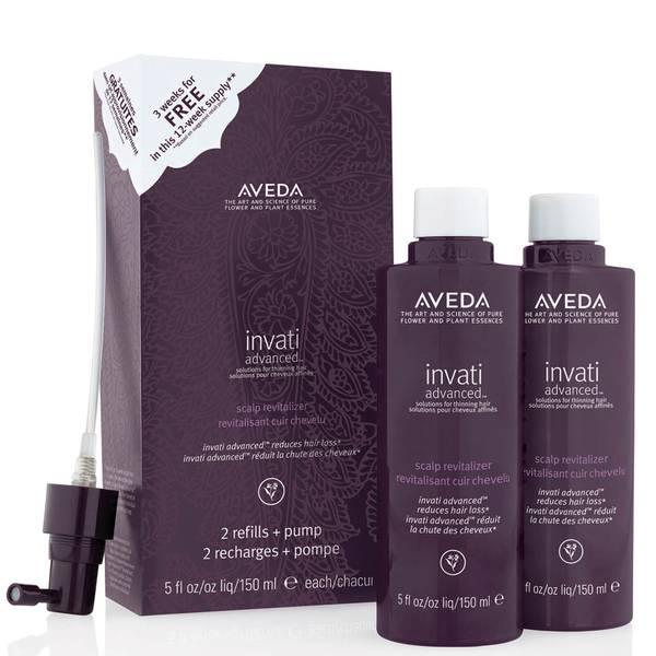 Aveda Invati Advanced Scalp Revitalizer Duo Pack 2 x 150ml