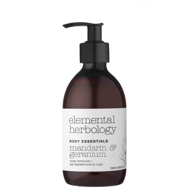 Скраб для тела с экстрактом папайи и маслом макадамии Elemental Herbology Macadamia and Papaya Body Scrub 200 мл
