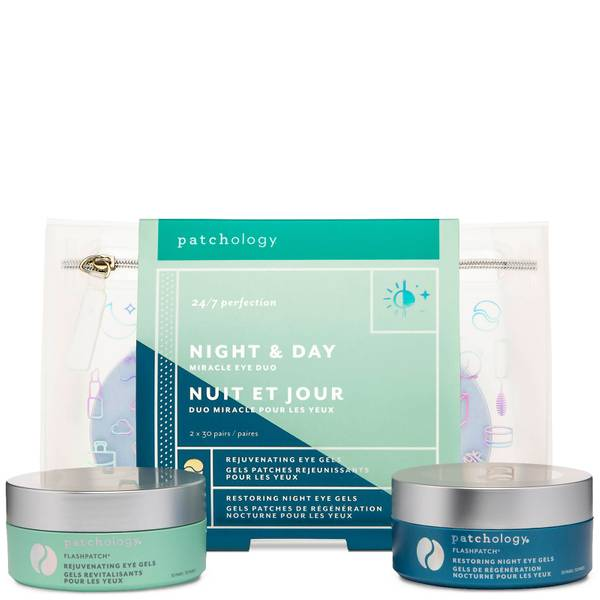 Patchology FlashPatch Night and Day Miracle Eye Duo