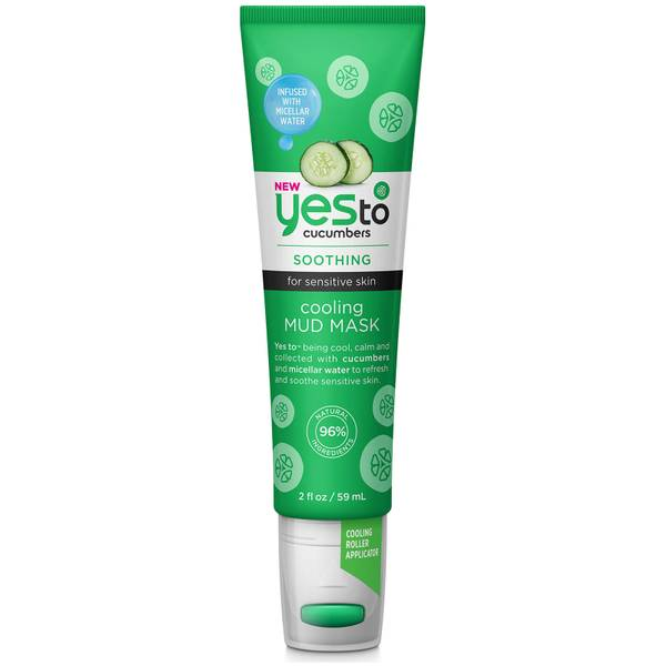 Máscara de Lama Refrescante Cucumbers da yes to 59 ml