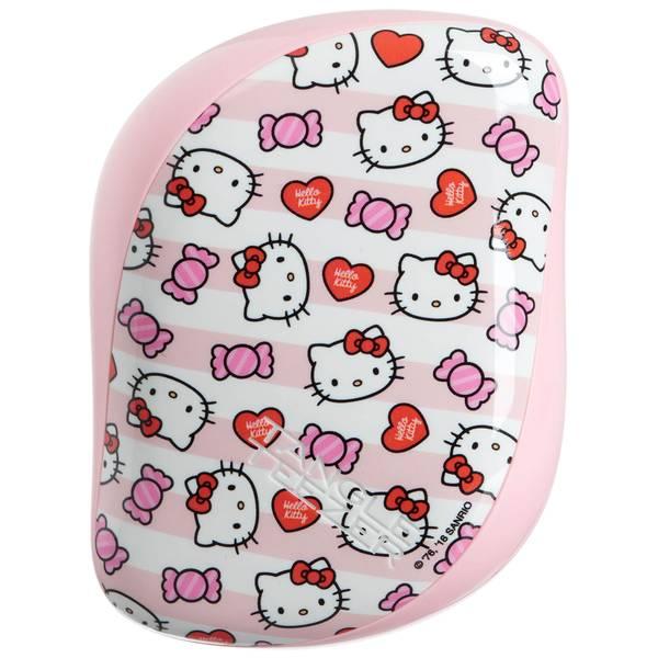 Brosse de Poche Compact Styler Hairbrush – Hello Kitty Candy Stripes