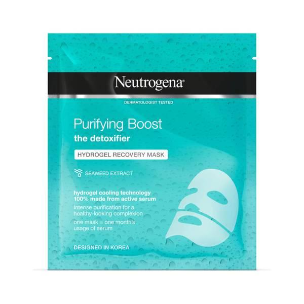 Гидрогелевая восстанавливающая маска Neutrogena Purifying Boost Hydrogel Recovery Mask 30 мл