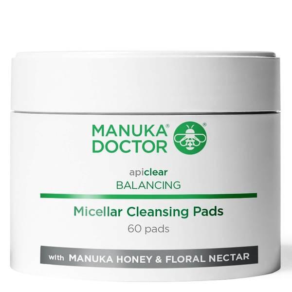 Manuka Doctor Apiclear Balancing Micellar Cleansing Pads (Pack of 60)