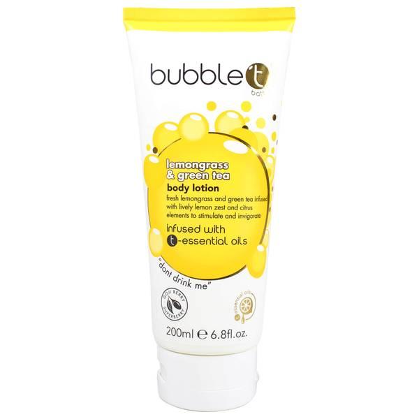 Bubble T 檸檬草與綠茶身體乳(200ml)