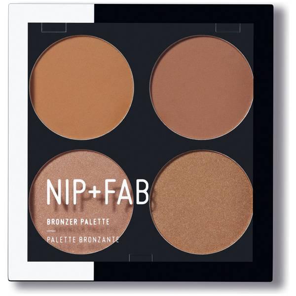 NIP + FAB Make Up Bronzer Palette - Bronzed 01(NIP + FAB 메이크 업 브론저 팔레트 - 브론즈드 01, 15.2g)