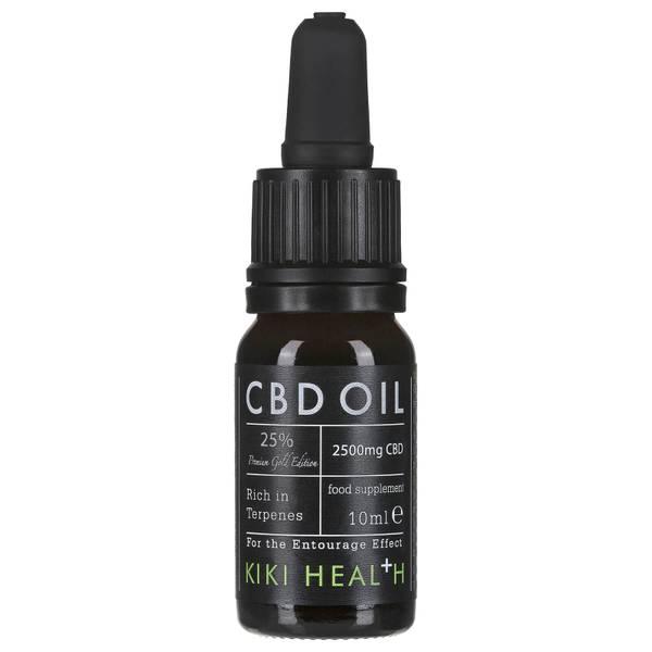 KIKI Health CBD Oil 25% 10ml - Gold Edition