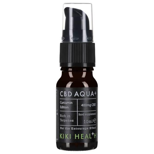 KIKI Health CBD Aqua + with Additional Curcumin 10ml