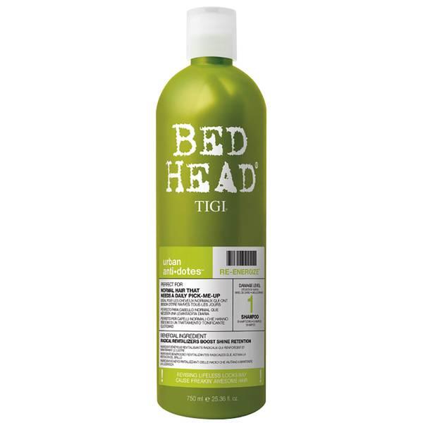 Shampoo para Cabelo Normal Bed Head Urban Antidotes Re-energize Daily da TIGI 750 ml