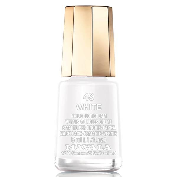 Mavala Nail Colour - White 5ml