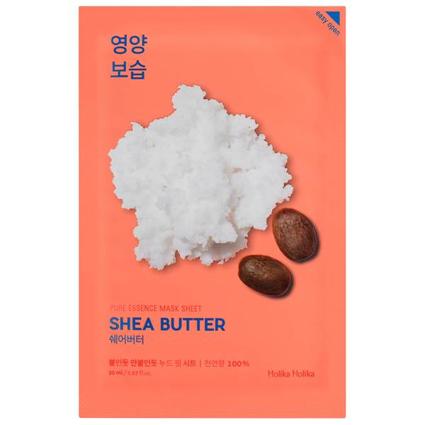 Holika Holika Pure Essence Mask Sheet - Shea Butter