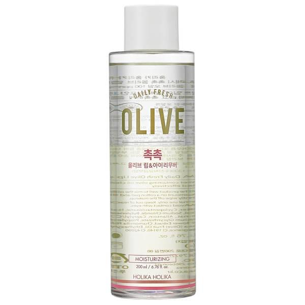 Limpiador de ojos y labios Daily Fresh Olive de Holika Holika 200 ml