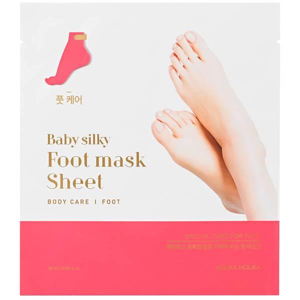Holika Holika Baby Silky Foot maschera in tessuto per le i piedi