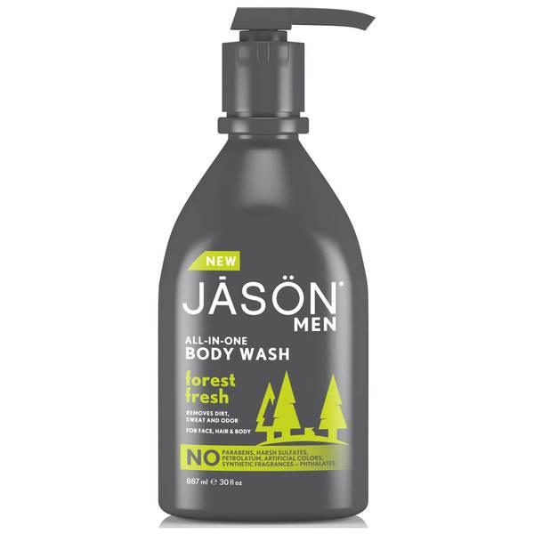 JASON Men's Body Wash Forest Fresh Pump