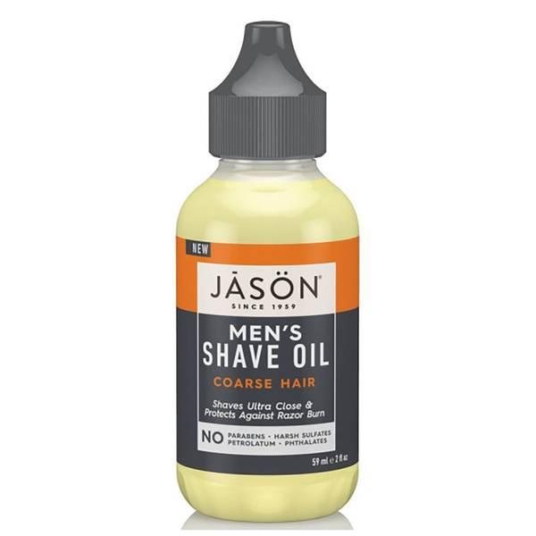 JASON Men's Shave Oil – Coarse Hair