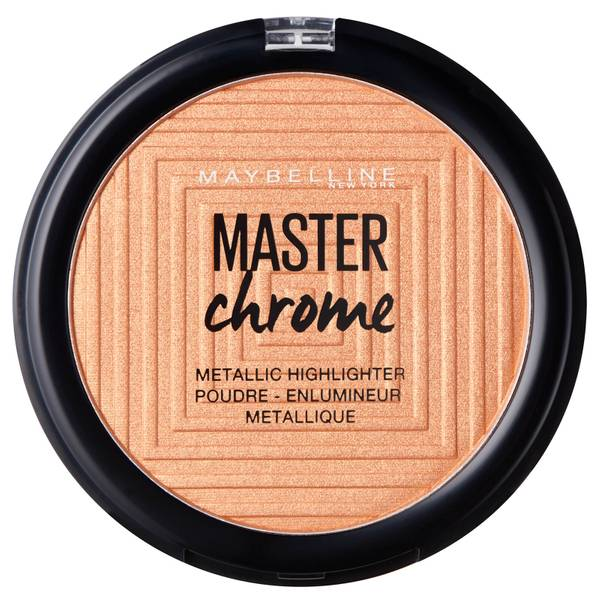 Maybelline Master Chrome Metal Highlighting Powder 100 Molten Gold 8g