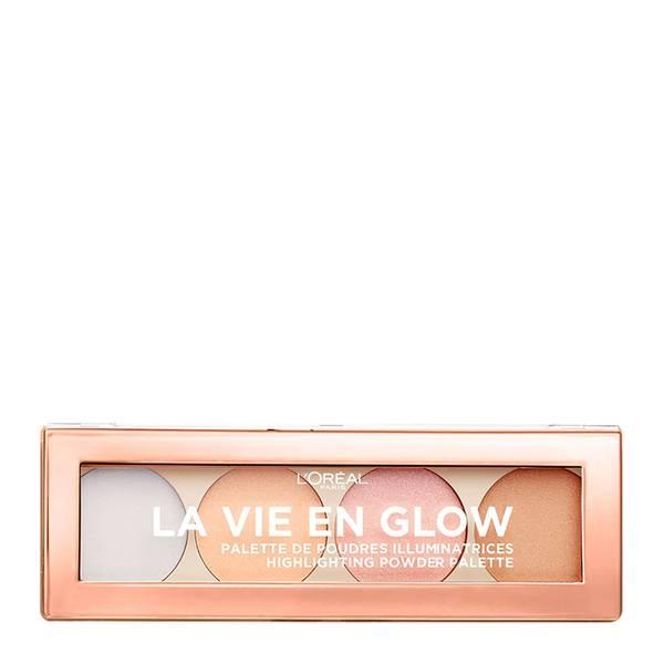 L'Oréal Paris La Vie En Glow Highlighting Powder Palette - Cool Glow 10g