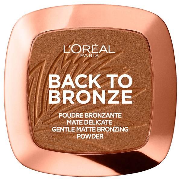 Polvos bronceadores Matte Bronzing Powder de L'Oréal Paris - Back To Bronze 9 g