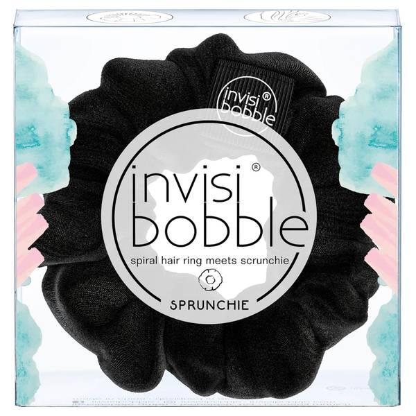 Goma de pelo elástica en espiral de invisibobble - True Black