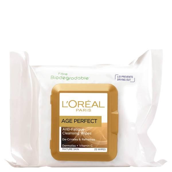 L'Oréal Paris Age Perfect Anti-Fatigue Cleansing Wipes (25 Wipes)