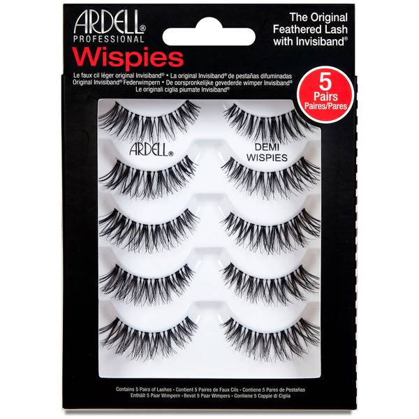 Faux-cils Multipack Demi Wispies Ardell x 5